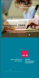 Seminare 2009 Seminare 2009 - Hib-bremen.de