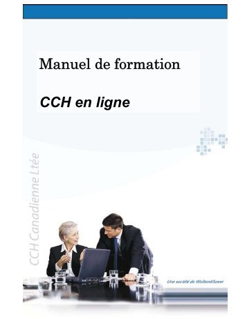Manuel de formation CCH en ligne