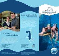 Broschüre Schwimmbad Altdorf herunterladen