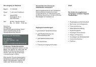 Die Lehrgang im Überblick Beginn: 01.09.2009 Dauer: 1 Jahr (inkl ...