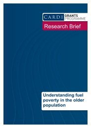 Understanding Fuel Poverty - CARDI