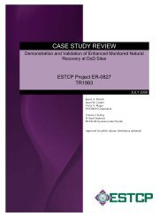Technical Report - Case Study Review - Strategic Environmental ...