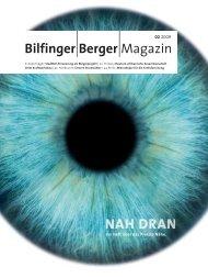 Bilfinger Berger - Magazin