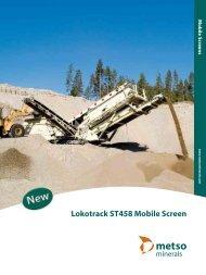 Lokotrack ST458 mobile screen - Brochure - English - Metso