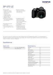 SP-570 UZ, Olympus, Compact Cameras