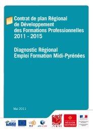 Diagnostic Régional Emploi Formation Midi-Pyrénées (.pdf 972 ko)