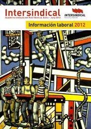 cuaderno información laboral 2012 - STM Intersindical Valenciana