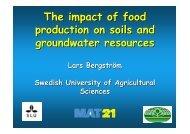 Lars Bergstrom - Plant Nutrition Group