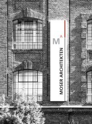 Download Moser Architekten Folder (PDF)