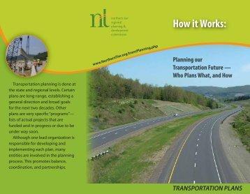 Transportation Plans Brochure - Northern Tier Regional Planning ...