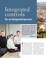 for an integrated process - Metso's automation