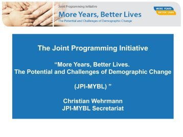 The Joint Programming Initiative
