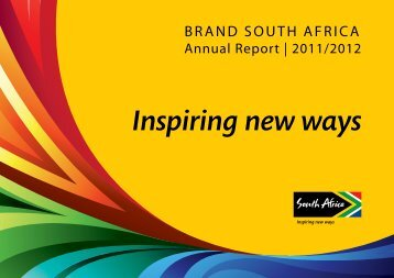Cover - Brand South Africa