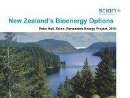 New Zealand's Bioenergy Options - Liquid Biofuels