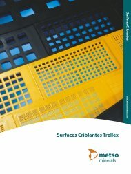 Surfaces Criblantes Trellex - Metso