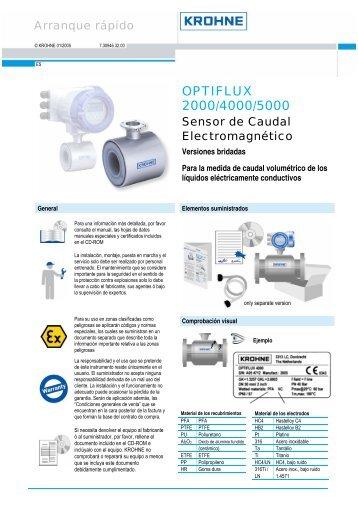 OPTIFLUX 2000/4000/5000