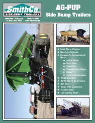 Download PDF Spec Sheet - SmithCo Side Dump