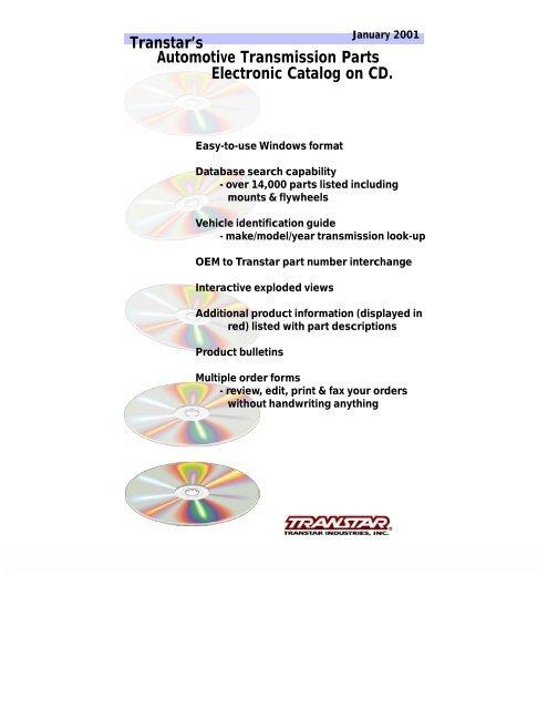 Transtar Transmission Parts >> Transtar S Automotive Transmission Parts Electronic Autocd Ru