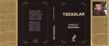 Tezadlar new version - DSpace at Khazar University