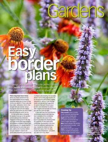 Plant the perfect border with James Alexander-Sinclair's