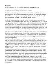Auswertung - Landesarbeitsgemeinschaft Darstellendes Spiel Berlin