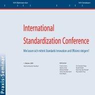 International Standardization Conference - WM Datenservice