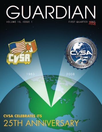 inside cover - Commercial Vehicle Safety Alliance