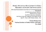 Pratap Ranjan Jena National Institute of Public Finance and Policy ...