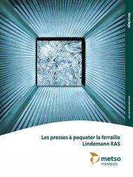 Les presses à paqueter la ferraille Lindemann RAS - Metso
