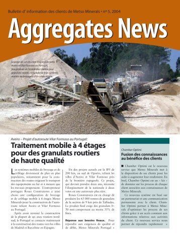Équipement mobile pour le traitement des scories de cuivre en - Metso