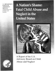 A Report of the U.S. Advisory Board on Child ... - ICAN Associates