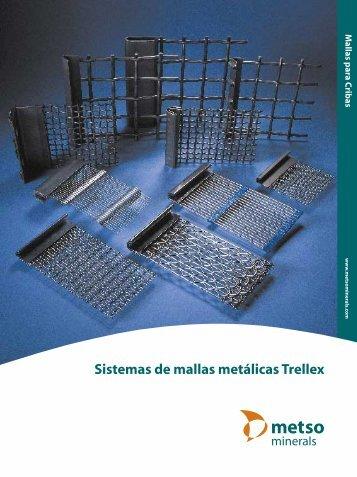 Sistemas de mallas metálicas Trellex - Metso