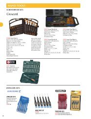 HAND TOOLS - TradeZone Industrial Group