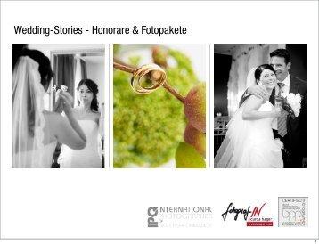 Wedding-Stories - Honorare & Fotopakete