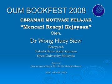MENCARI RESEPI KEJAYAAN - Open University Malaysia