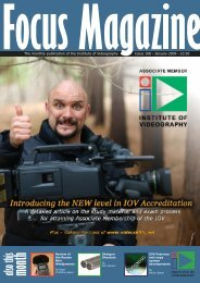Associate Membership - Article.pdf - Institute of Videography
