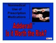 Adderall is one of the most abused drugs on college campuses