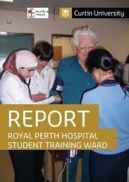 royal perth hospital student training ward - Health Sciences - Curtin ...