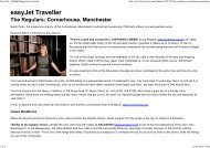 Traveller - Inflight Magazine of easyJet - Palazzo Strozzi