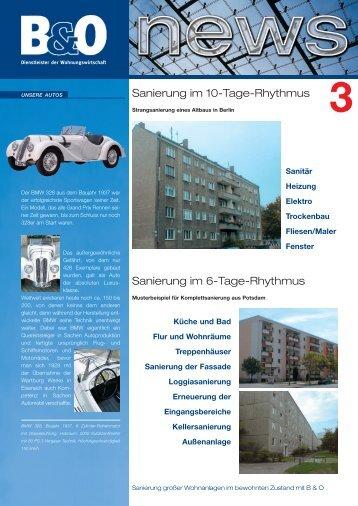 3 - B & O Wohnungswirtschaft
