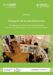 Workshop - Flächennutzungsplan