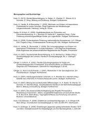 Monographien und Buchbeiträge Koch, K. (2010). - Universität ...