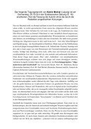 Der folgende Tagungsbericht von Katrin Molnár (Leipzig) ist am ...