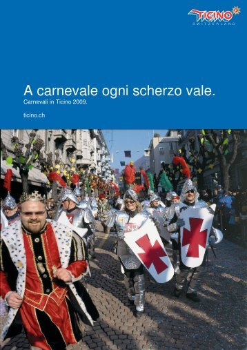 A carnevale ogni scherzo vale. - Ticino