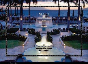 at Wailea - Four Seasons Hotels and Resorts