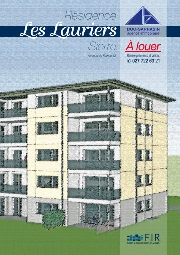 couv AVweb - FIR - Fonds Immobilier Romand