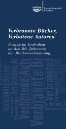 Texten verbotener Autoren - Stadt - Potsdam
