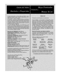 Maaya ta'an - Huicholes y Plaguicidas