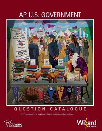 I. Constitutional Underpinnings of United States ... - Eduware