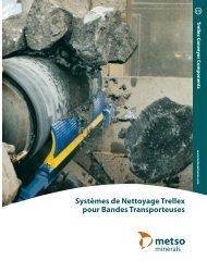 Systèmes de Nettoyage Trellex pour Bandes Transporteuses - Metso